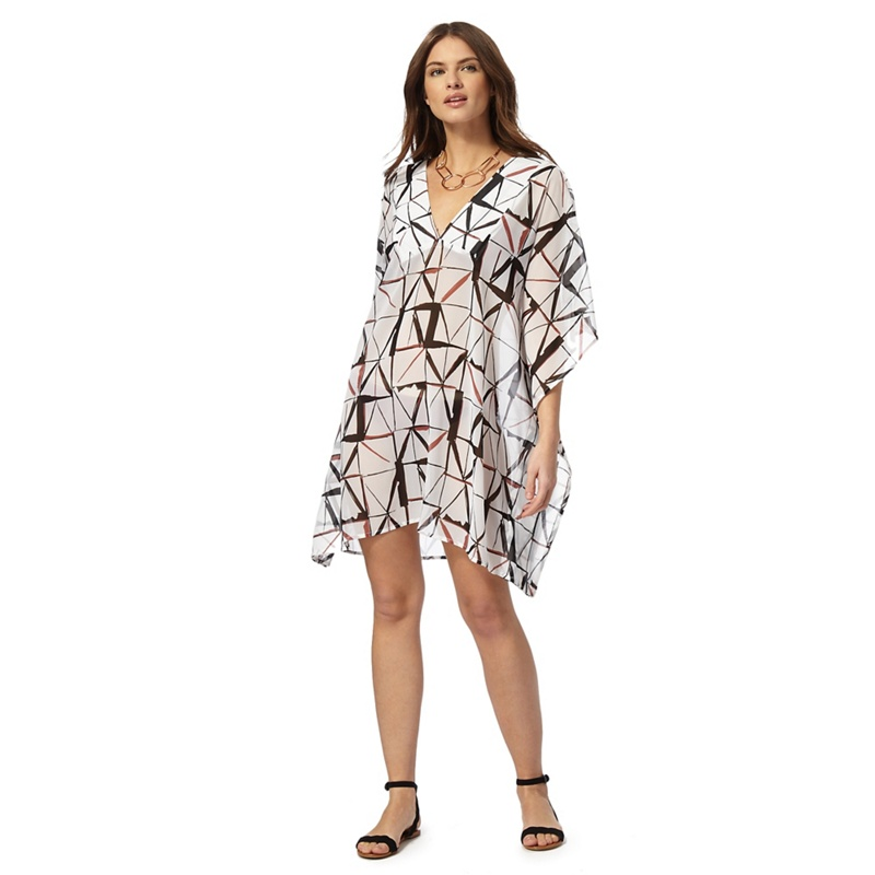 J by jasper conran multi printed kaftan octer for Jasper conran shop