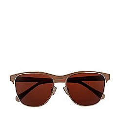 Radley - Radley - brown leather tort 'Saffron' sunglasses