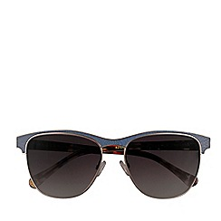 Radley - Radley - blue leather tort 'Saffron' sunglasses