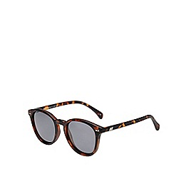 Le Specs - Brown modern round sunglasses