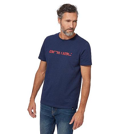 Animal - Navy graphic van t-shirt