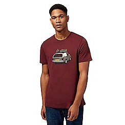 Animal - Wine red 'Woody' t-shirt