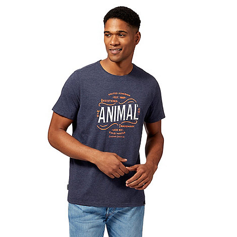 Animal - Navy logo t-shirt