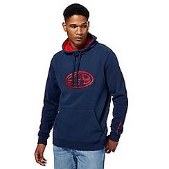 Animal - Navy logo hoodie