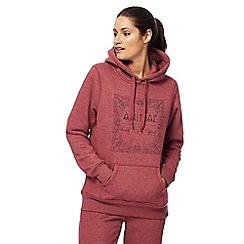Animal - Pink sketched print hoodie