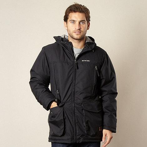 Animal - Black hooded padded jacket