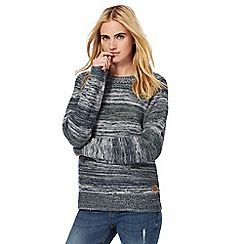 Animal - Navy striped jumper
