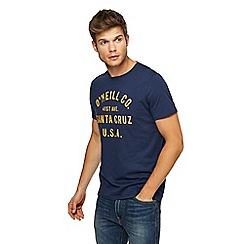 O'Neill - Navy logo print t-shirt