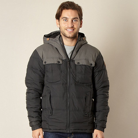 O+Neill - Grey hooded padded jacket