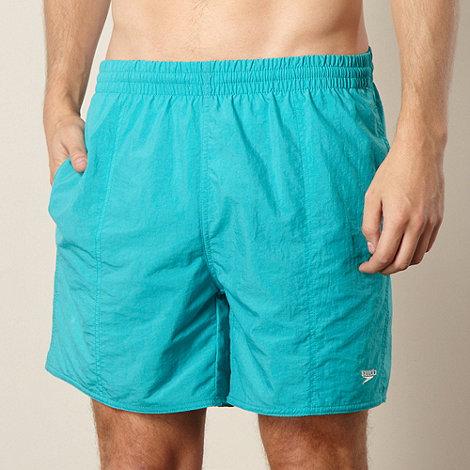Speedo - Green swimming shorts