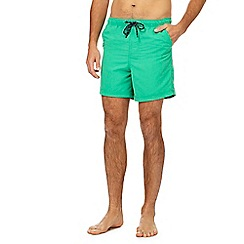 Maine New England - Big and tall green swim shorts