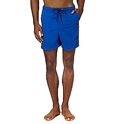 Maine New England - Big and tall mid blue swim shorts