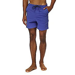Maine New England - Big and tall purple swim shorts