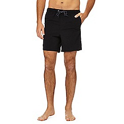 Maine New England - Big and tall black swim shorts