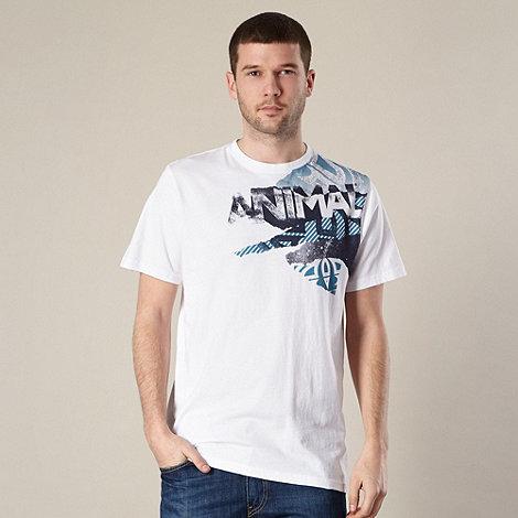 Animal - White shoulder logo t-shirt