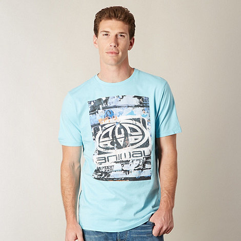 Animal - Pale blue large logo t-shirt