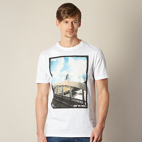 Animal - White bridge cycle t-shirt