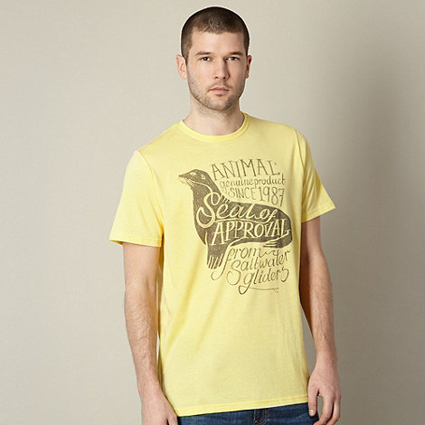 Animal - Yellow +Seal of Approval+ t-shirt