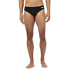 Speedo - Black logo elasticated briefs