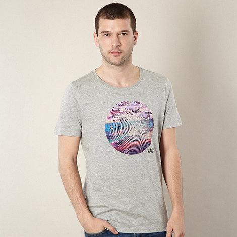 Protest - Grey circle car print t-shirt