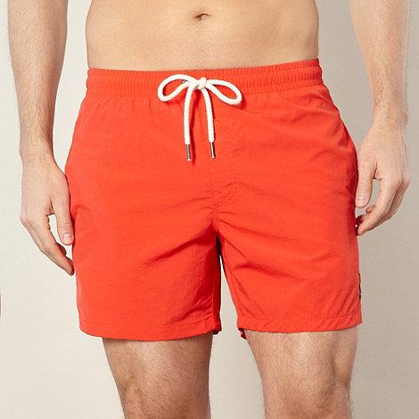 Protest - Red basic swim board shorts