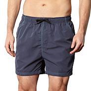 Navy plain swim shorts