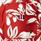 Maine New England - Red hibiscus flower swim shorts Alternative 2
