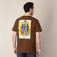 Weird Fish - Brown 'Fin Hur' t-shirt