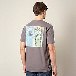 Weird Fish - Grey 'Salmon and Garfunkel' t-shirt