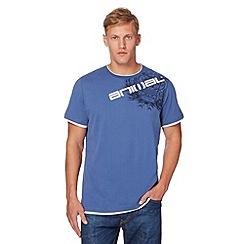 Animal - Blue printed shoulder t-shirt