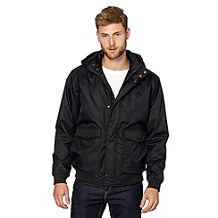 Quiksilver - Black hooded jacket