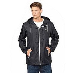 Quiksilver - Dark grey lightweight zip through jacket