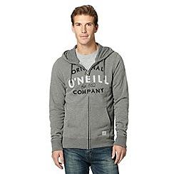 O'Neill - Grey slim fit hoodie