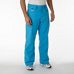Quiksilver - Bright blue twill tech trousers
