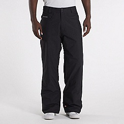 Quiksilver - Black twill cargo trousers