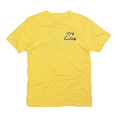 Yellow retro logo t-shirt
