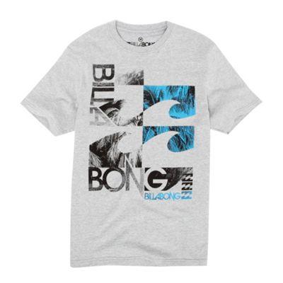 Grey wave design t-shirt