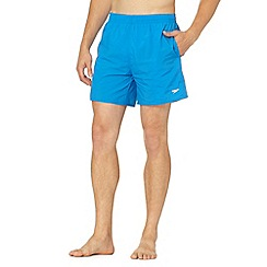Speedo - Bright blue plain swim shorts