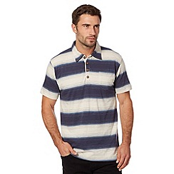 Weird Fish - Blue striped polo top