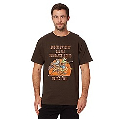 Weird Fish - Brown 'Butch Bassidy' t-shirt