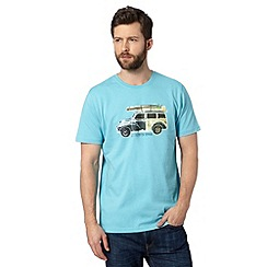 Animal - Big and tall turquoise 'Loderoes Woody' t-shirt