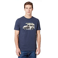Animal - Big and tall navy 'Loderoes Woody' t-shirt