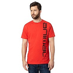 Animal - Big and tall red side logo t-shirt