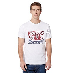 Animal - White logo print t-shirt