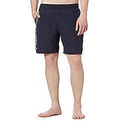 Animal - Navy side logo swim shorts