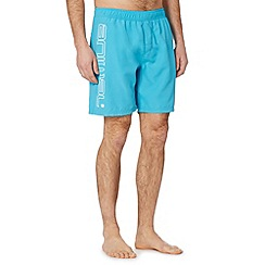 Animal - Bright blue side logo swim shorts