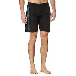 Animal - Black side logo swim shorts