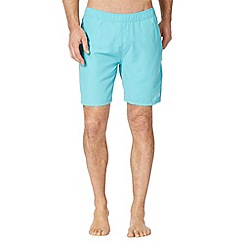 Animal - Turquoise back logo swim shorts