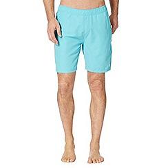 Animal - Turquoise back logo swim shorts