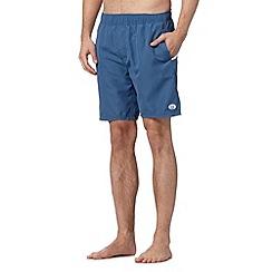 Animal - Blue back logo swim shorts